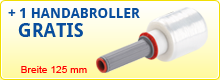 Handabroller GRATIS Breite 125 mm
