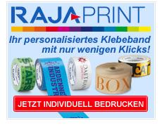 Rajaprint: Ihr personalisiertes Klebeband mit nur wenigen Klicks!